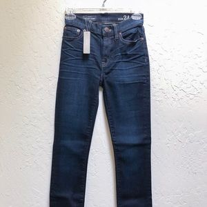 NWT J.Crew The Lookout High-Rise Skinny Jeans
